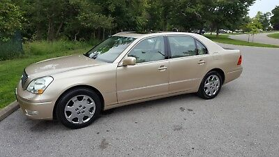 2003 Lexus LS Lux and Leather Package 2003 Lexus LS430