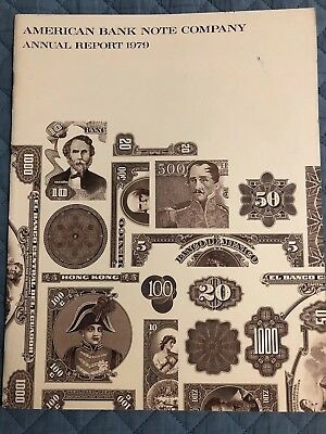 1979 AMERICAN BANK NOTE CO             Annual Report (last One)