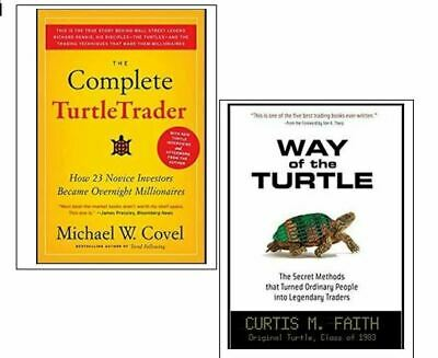 The Complete Turtle Trader + Way of the Turtle (1 FREE) *ONLY* 4 Phone/Tab/PC