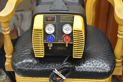 Appion G5TWIN Refrigerant Recovery Machine great condition FREE S/H 1YR WARRANTY