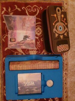 Legend of Zelda Breath of the Wild Special Edition Nintendo Switch with Book