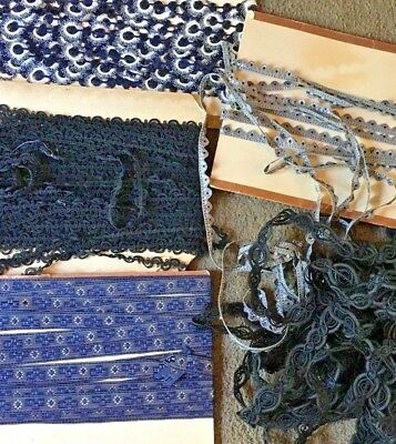 Variety of old store stock Victorian to Edwardian trims