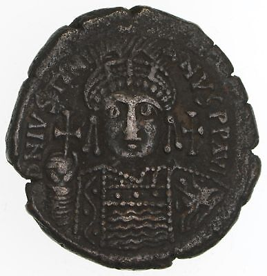 """Byzantine Justinian I The Great 527-565 AD """"M"""" Coin - Circulated *2250"""