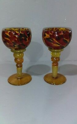 Colin Heaney - 2 Wine Goblets