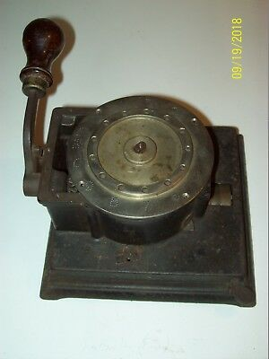 Antique 1800's ABBOTT CHECK Punch / PERFORATOR,  ~ For Parts