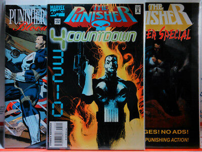 Punisher (1987) #103 Vf + Summer Special #2 + Captain America Blood & Glory #3