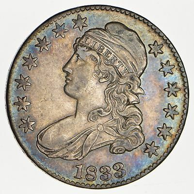 1833 Capped Bust Half Dollar - Circulated *0107