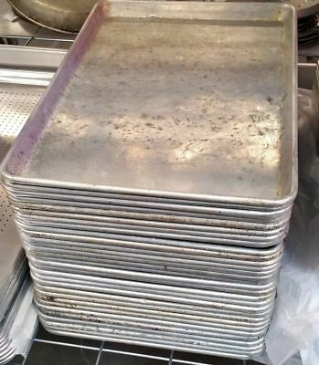 1/2 Sheet Bakery Pan 18 x13 #2242 Commercial Bakery Bakeware NSF Cookie Flat