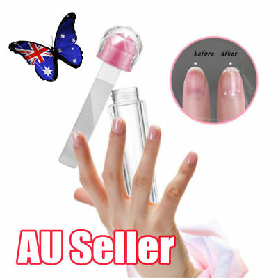 Nail Art Manicure Shiner Buffer Buffing Block Sanding File Kit Polish Tools ON