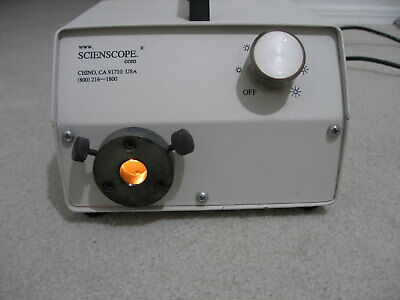 Scienscope Fiber Optic Illuminator
