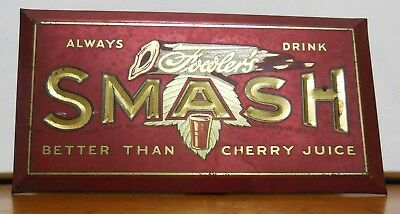 """Cherry Smash Dispenser 'go with"""" Counter Sign"""