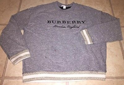 Burberry Multi Colored Shinny Sweater Size Kids 10