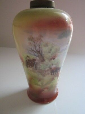 Small , Beautiful Antique Vase 13Cms Tall