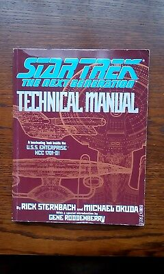 Star Trek : The Next Generation - Technical Manual by Michael Okuda, Rick Stern…