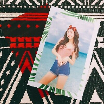 [TWICE NAYEON] Message Photocard Official New Summer Nights 2nd Special 나연