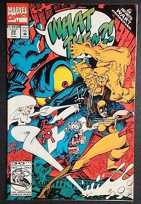 What The-?!#20 Marvel Comics1992 Infinity Wart