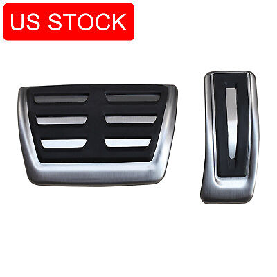 For Audi A4(B8) A5 A6 A7 A8 Q5 Macan No Drill Gas Brake Pedal Cover Accessories
