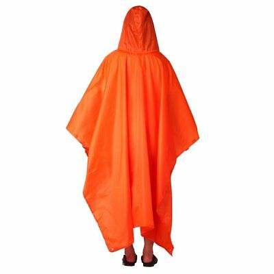 3 in 1 Multifunctional Rain Poncho Backpack Cover Tarp Hiking Rain Covers KJ