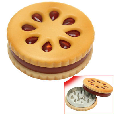 Cute-Biscuit Design Grinder Tobacco Herb Spice Crusher Accessories Hand Muller