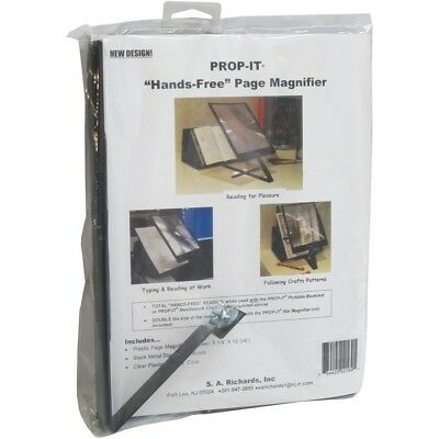 S.a. Richards 2169 Prop-it Hands-free Page Magnifier And Stand - Propit