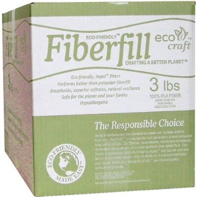 Mountain Mist Fiber 3lb Eco-friendly Fiberfill - Ecofriendly Fob Mi