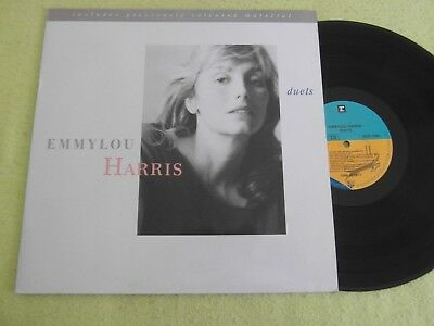 Lp   Emmylou Harris  -  Duets  (Orig.1990 German-Press)  Mint-
