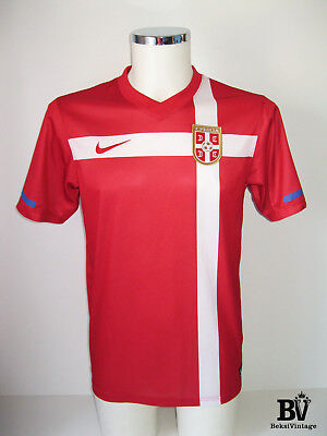 1e16ca7a1 Nike Serbia Belgrade National Team Football Shirt Jersey 2010-2011 Home  Size S