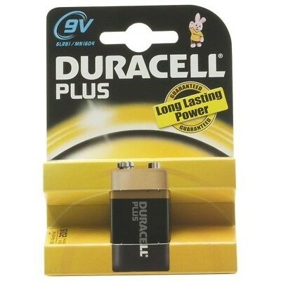 Duracell Plus 5000394019256 MN1604 PP3 9V Alkaline Battery