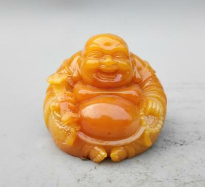 China imitation resin maitreya Buddha small statue