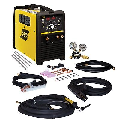 ESAB ET 186i AC/DC TIG & Stick Welder Package w/out Foot Control (W1006301)