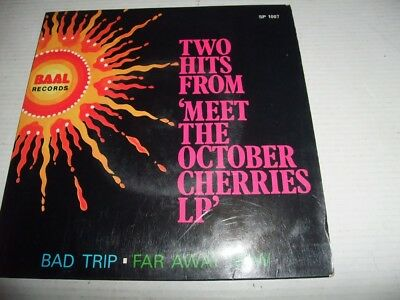 OCTOBER CHERRIES: Bad Trip (Singapore/Malaysia-Baal 1969, very rare Psych/Rock)
