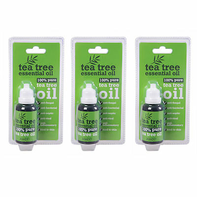 30 ml Bottle 100 % Pure Tea Tree Essential Oil Antiseptic Anti Fungal Skin Kind