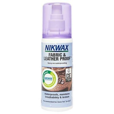 New Nikwax Fabric Leather Spray 125Ml Fabric Washing Treatment Assorted