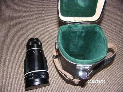 Pentax Takumar 3.5 / 200  Camera Lense, With Case In Amazing Condition.