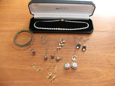 Job Lot of Vintage Costume Jewellery