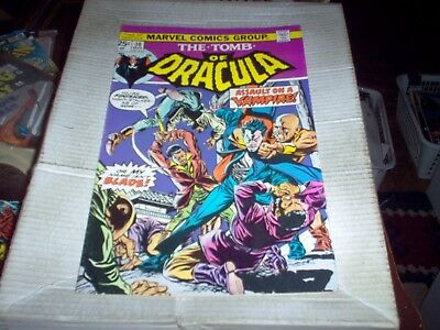 The Tomb Of Dracula # 30 Gene Colan Art Mourning Night Issue Look Vf