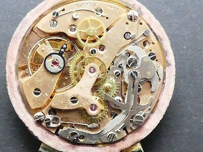 Landeron 248 not working Chronograph Movement Caliber for parts (K147)