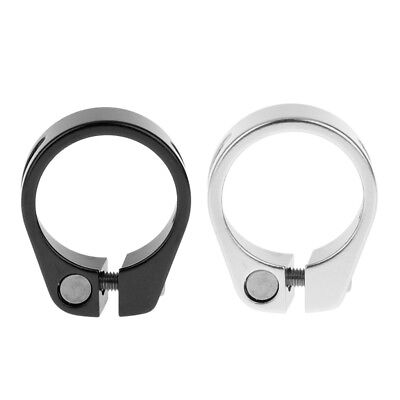 2 Pieces Alloy Cycling Bike Bicycle Quick Release Seat Post Clamp Cycling