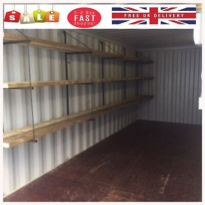 Shipping Container Shelving Bracket - Stronger Faster Easier Quick Free Delivery