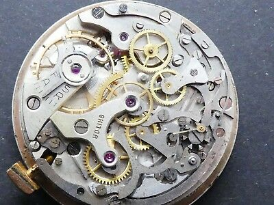 Venus 188 not working Chronograph Movement Caliber for parts (K149)