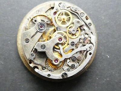 Venus 175 not working Chronograph Movement Caliber for parts (K154)