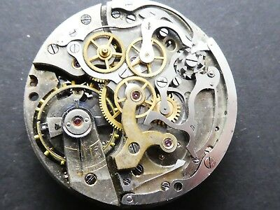 Landeron working Chronograph Movement Caliber for parts (K157)