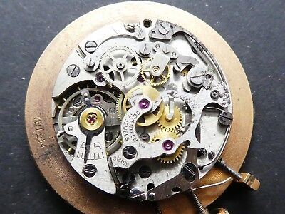 lanco lemania 1275 working Chronograph Movement Caliber for parts (K160)