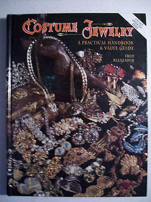Vintage Costume Jewelry 2,200 Collector's Price Guide Book Hardback Color Pics