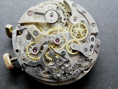 venus 188 not working Chronograph Movement Caliber for parts (K163)