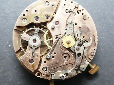 landeron 189 not working Chronograph Movement Caliber for parts (K166)