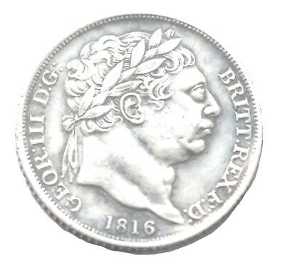 George III Sixpence 1816 Laureate Head