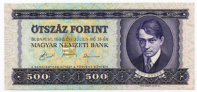 Hungary Pick 175 500 Forint banknote 1990 in UNC condition