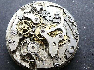landeron not working Chronograph Movement Caliber for parts (K174)
