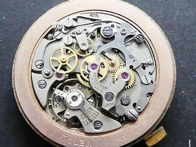 lemania 1275 not working Chronograph Movement Caliber for parts (K176)